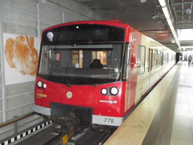 Führerlose U-Bahn Nürnberg