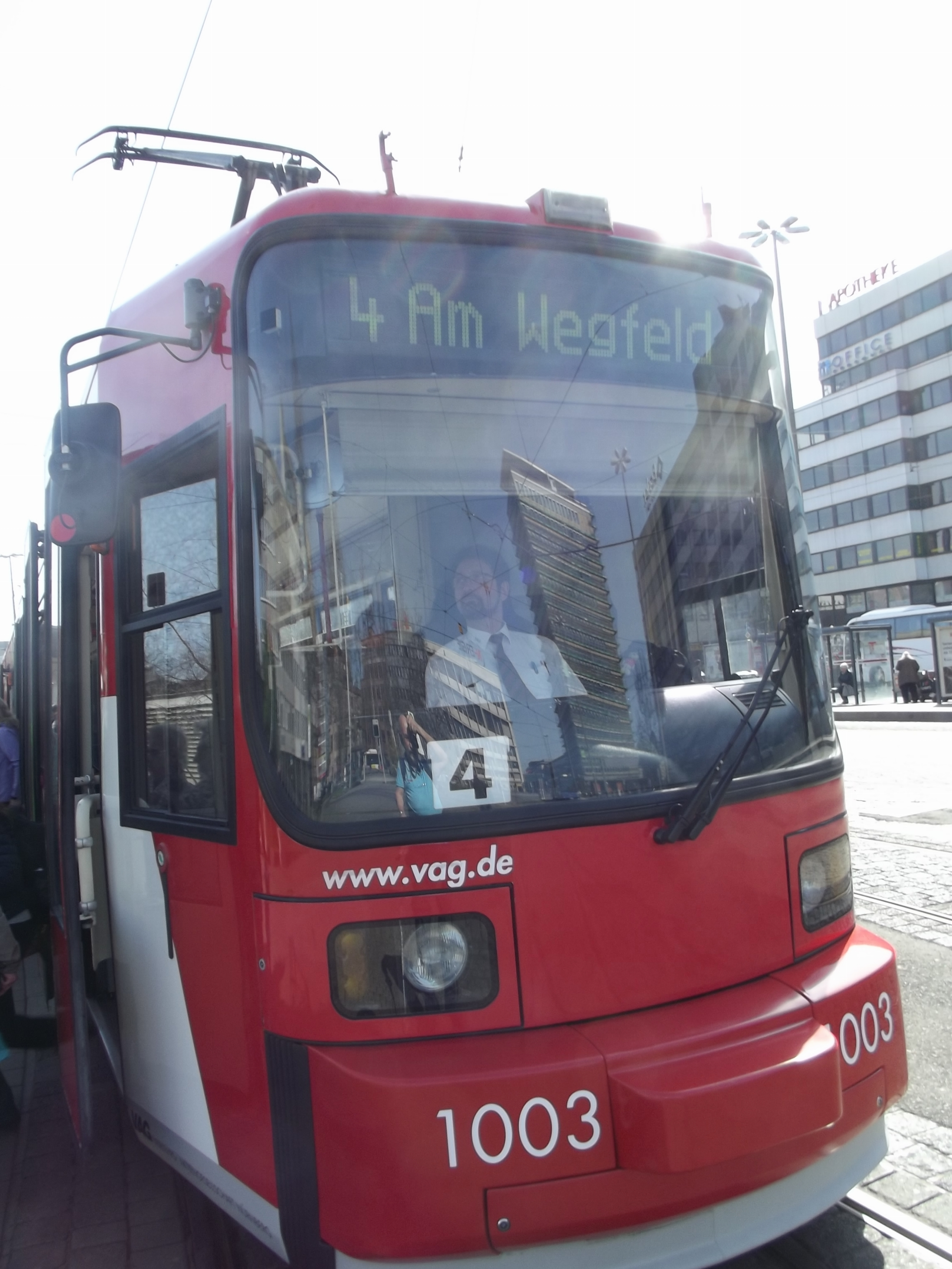 Straßenbahn in Nürnberg